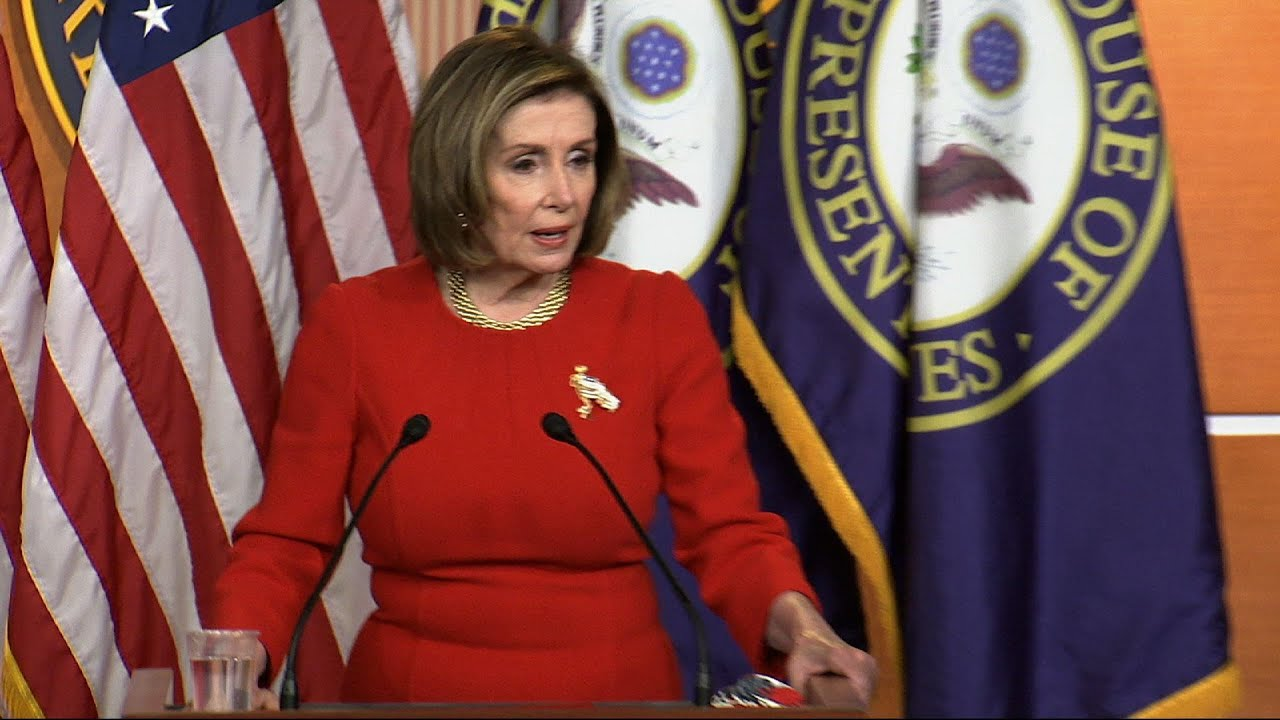 Pelosi defends US response to Mideast conflict