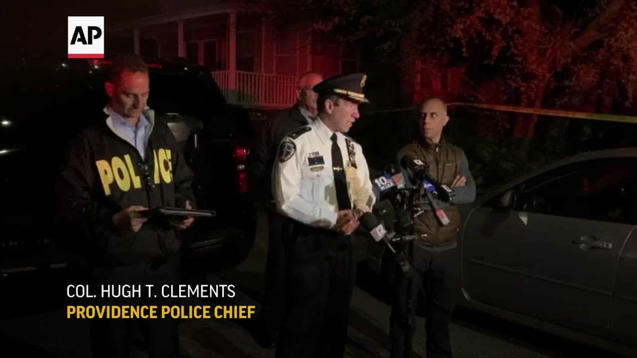 Police: 9 wounded in Rhode Island shooting