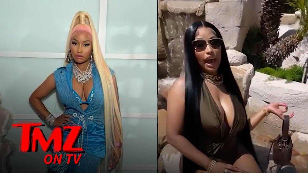 Nicki Minaj Starts the Backyard Challenge   TMZ TV