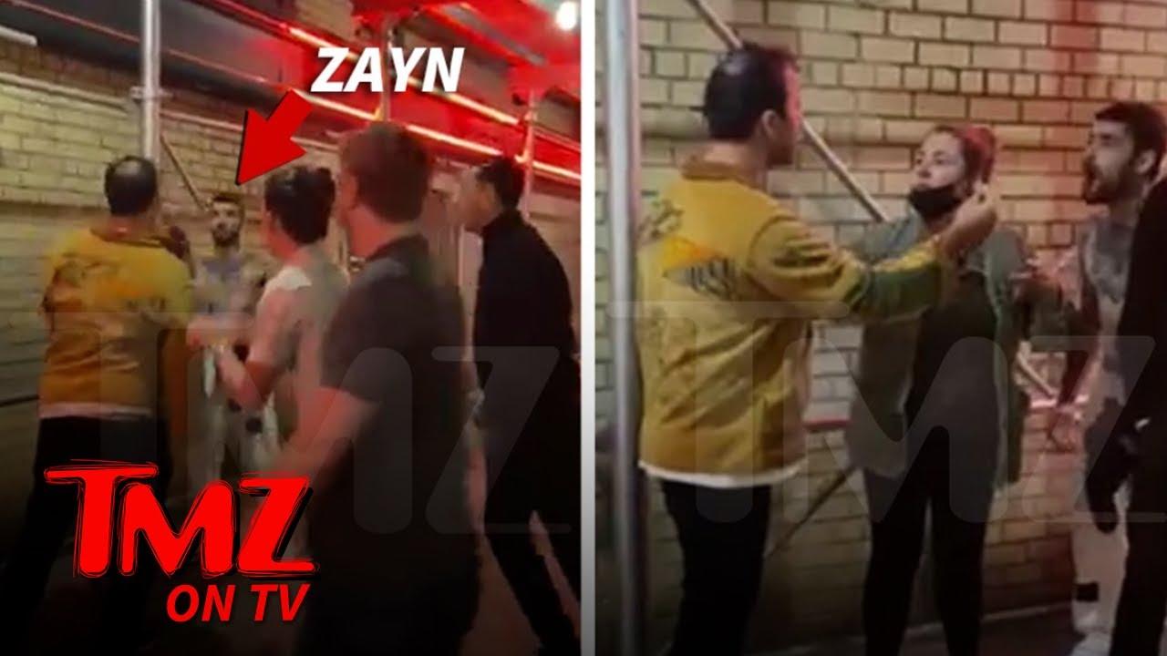 Zayn Malik Goes Shirtless in Near-Brawl Outside NYC Bar | TMZ TV