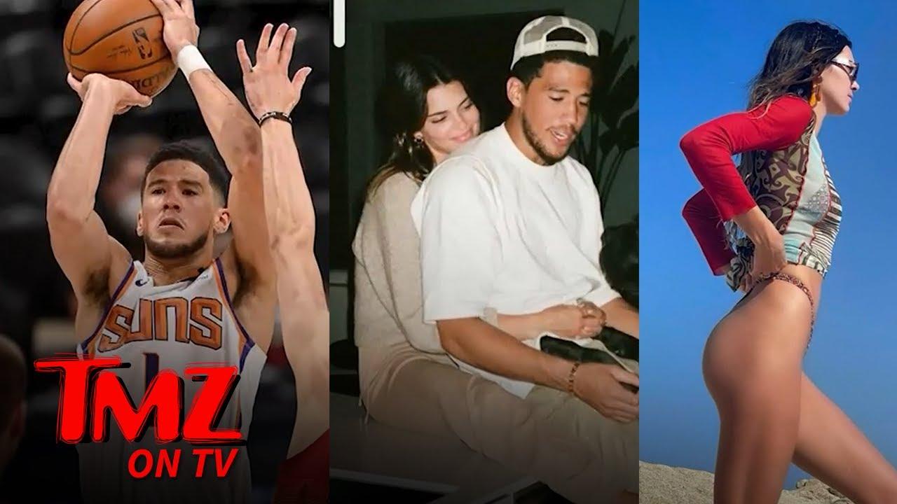 Devin Booker Avoids Kardashian Kurse As Him and Kendall Mark One Year Anniversary   TMZ TV