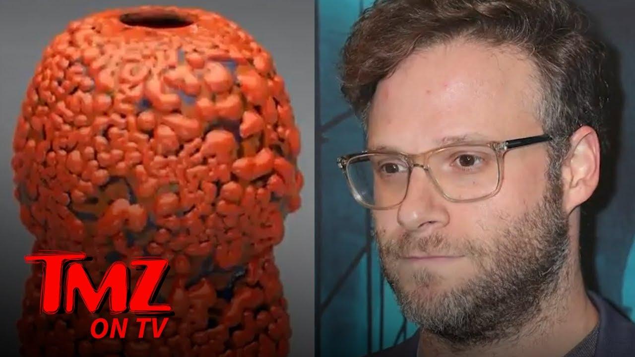 Seth Rogen's Ceramic Vase Sells for Thousands at Auction   TMZ TV