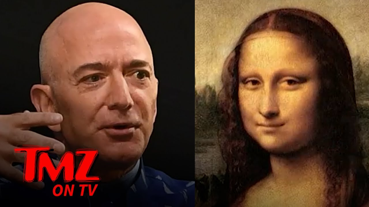 Thousands Sign Petition For Jeff Bezos To Buy & Eat The Mona Lisa | TMZ TV