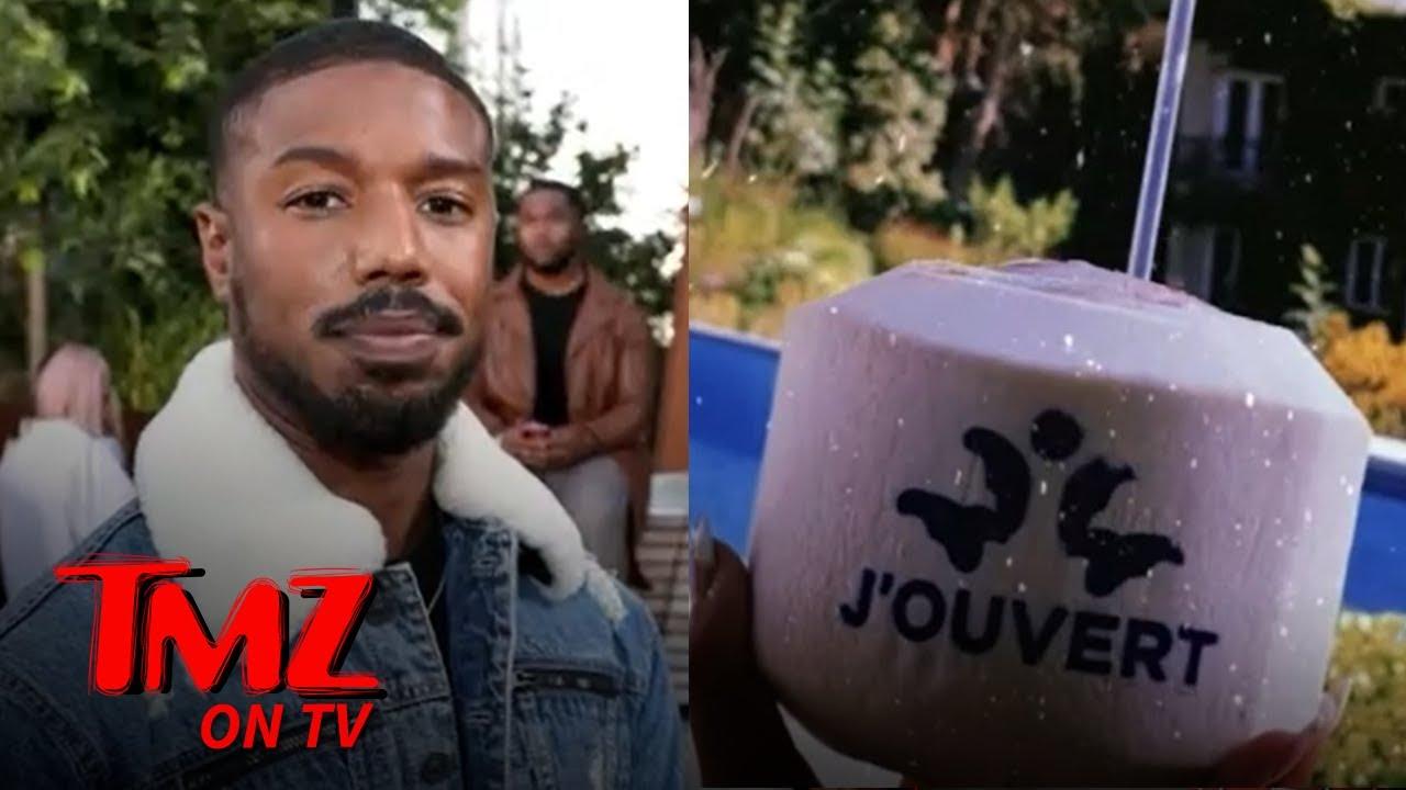 Michael B. Jordan Accused of Cultural Appropriation For New Rum Line, Promises Rebrand | TMZ TV