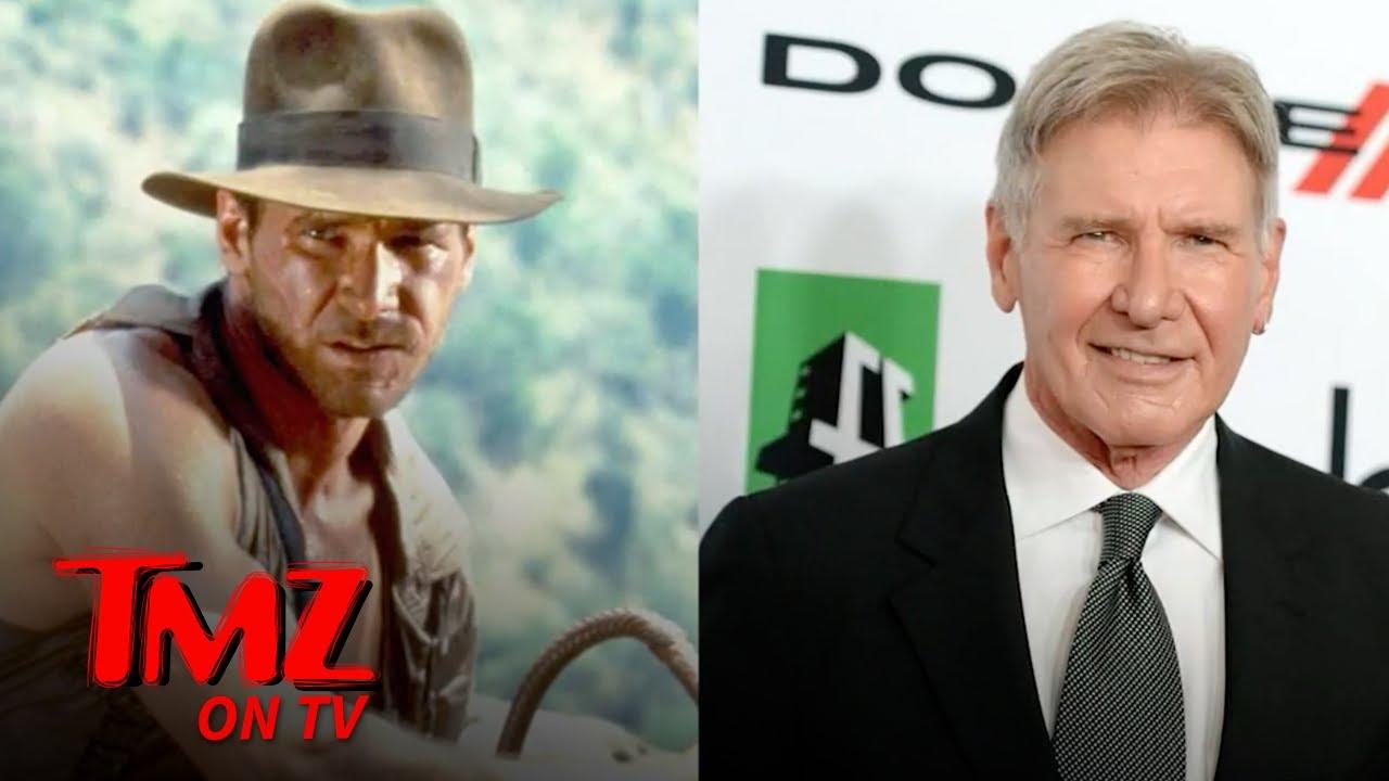 Harrison Ford's Injury Delays 'Indiana Jones 5' | TMZ TV