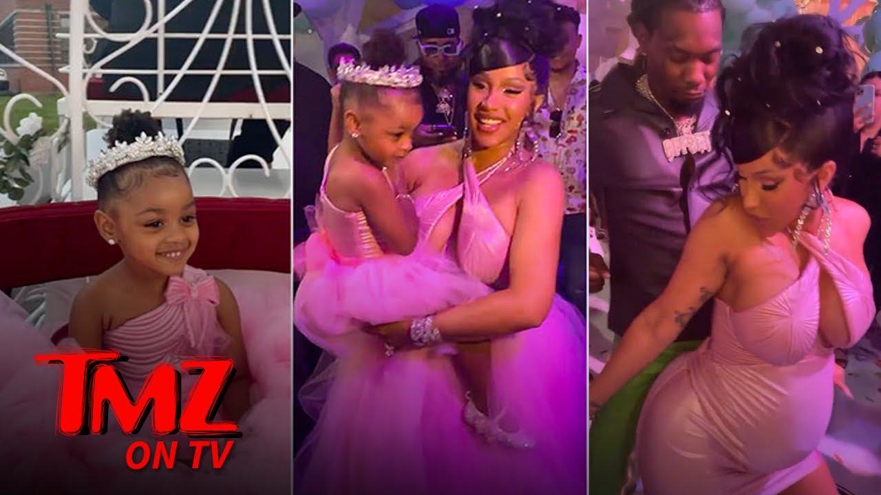 Cardi B & Offset Throw Kulture A Massive 3rd Birthday Party   TMZ TV