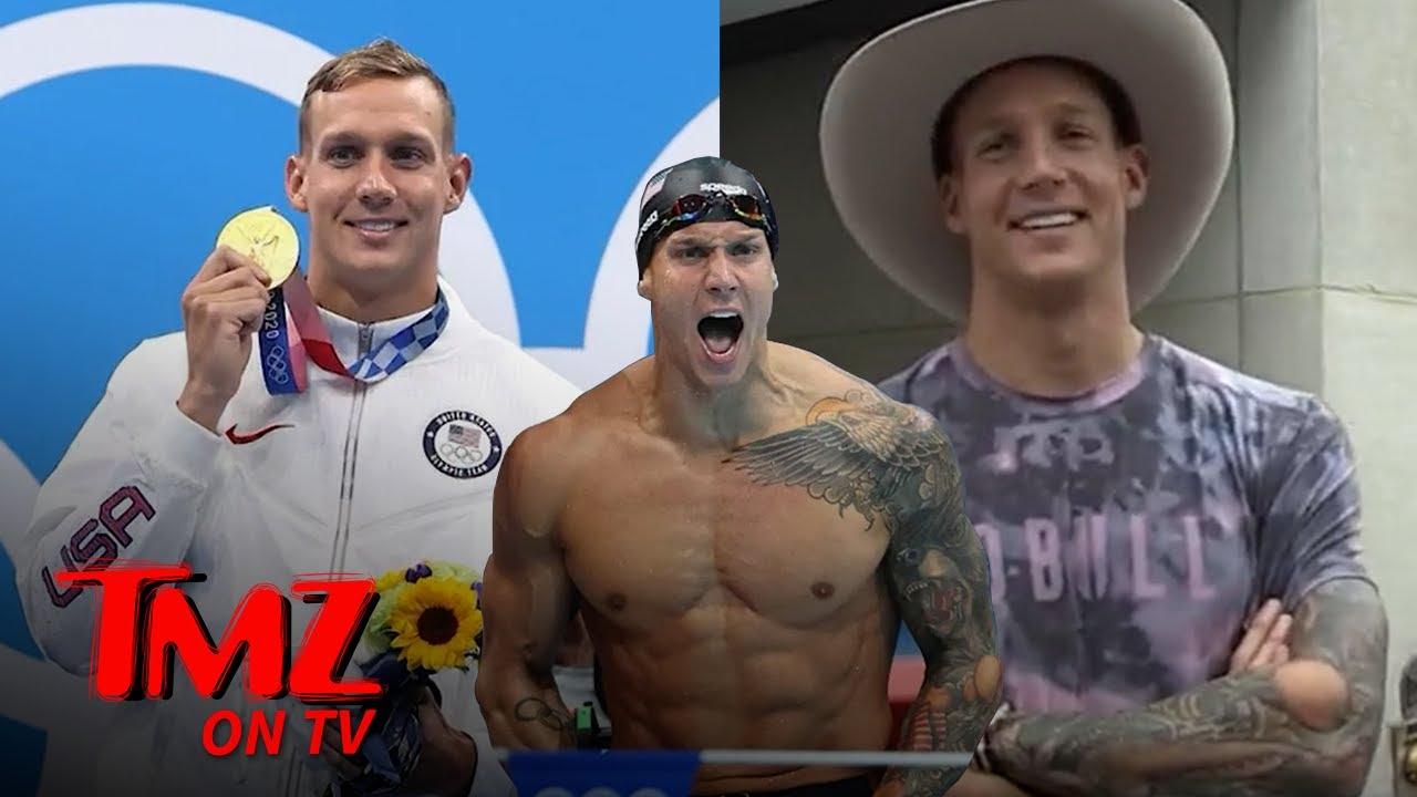 Olympic Swimmer Caeleb Dressel Talks Tattoos and Michael Phelps   TMZ TV