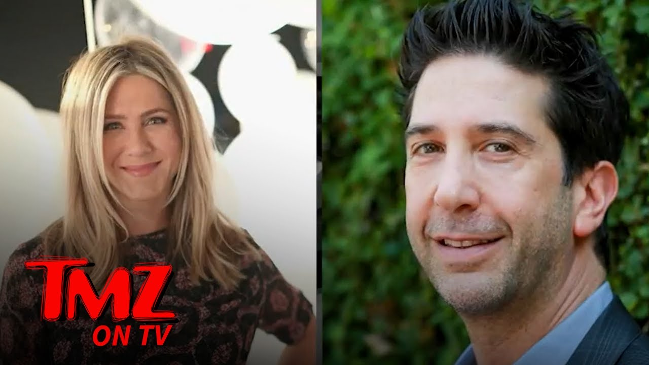 Jennifer Aniston, David Schwimmer Rumored to be Dating Not Long After 'Friends' Reunion   TMZ TV